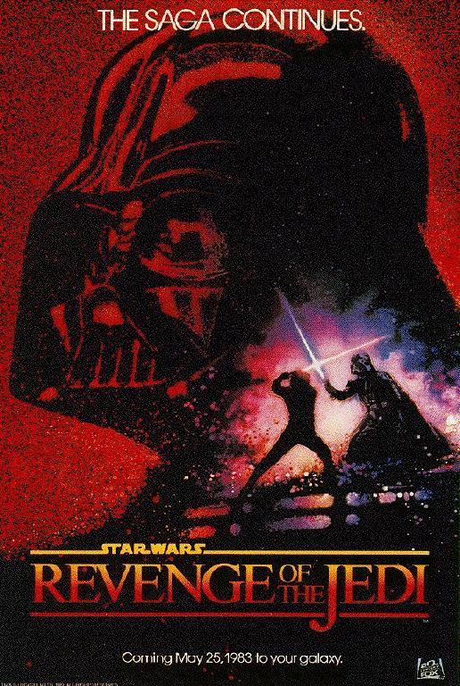 Plakat Zemsty Jedi