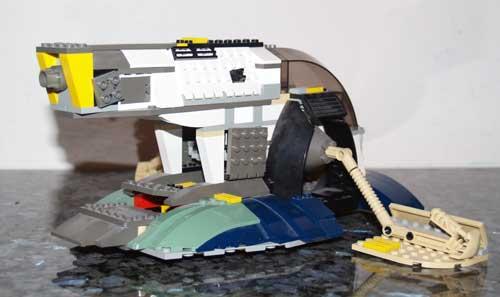 Lego Jango Fett Instructions Lego Jango Fetts Slave