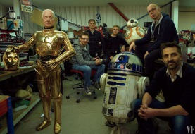 Anthony Daniels, BB-8 i R2-D2